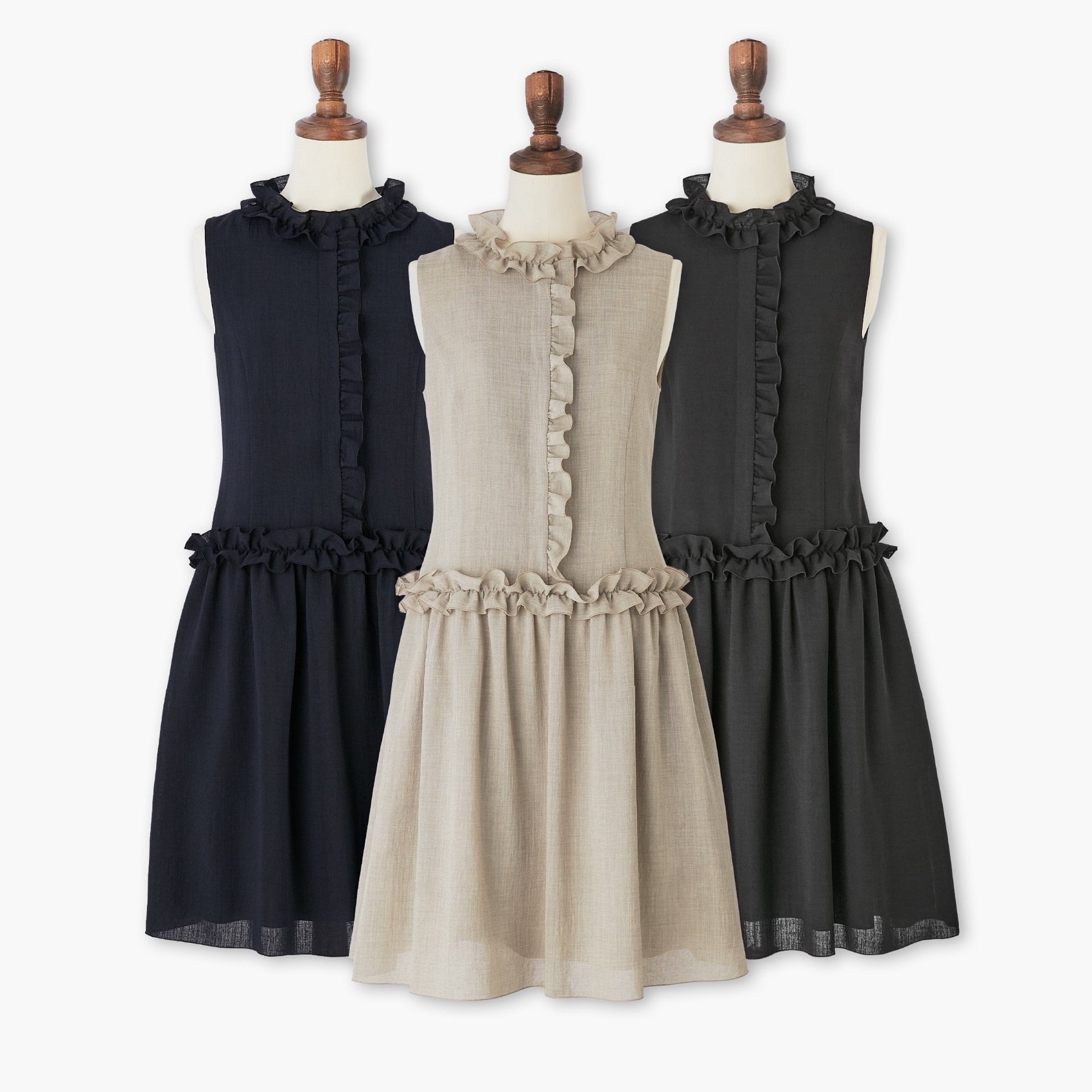 "Pick up! Dress ""Frill Lady"""