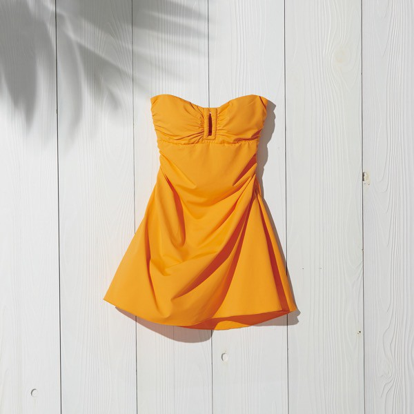 "SWIM DRESS ""Beach Lady"" (Marigold)"