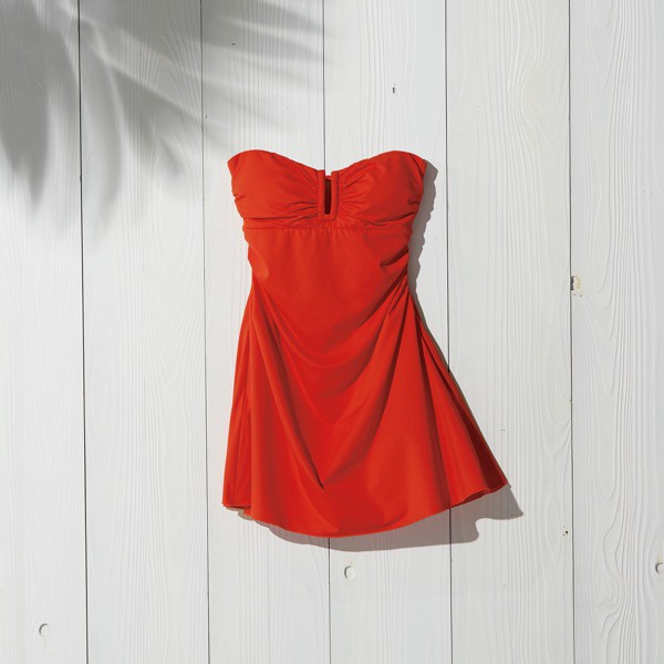 "SWIM DRESS ""Beach Lady"" (Orange)"