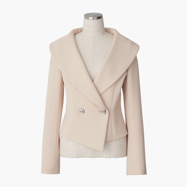 "Jacket ""Miss Lin Love"" (Light Beige)"