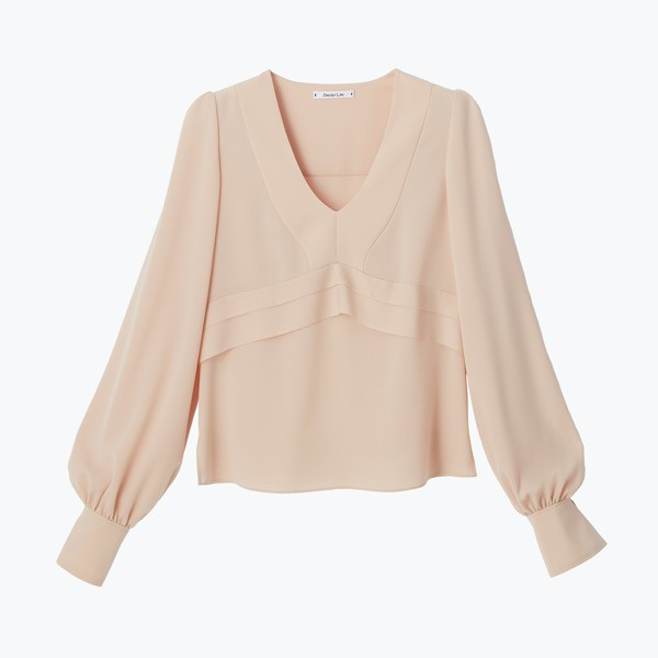 Photogenic Puff Blouse(French Rose)