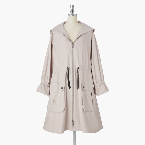 Miss Lin Super Light Rain Coat(Daisy Beige)