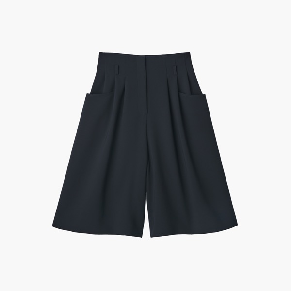 "Pants""Flare Culottes""(Midnight Blue)"