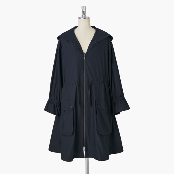 Miss Lin Super Light Rain Coat(Navy)