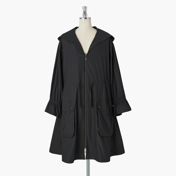 Miss Lin Super Light Rain Coat(Black)